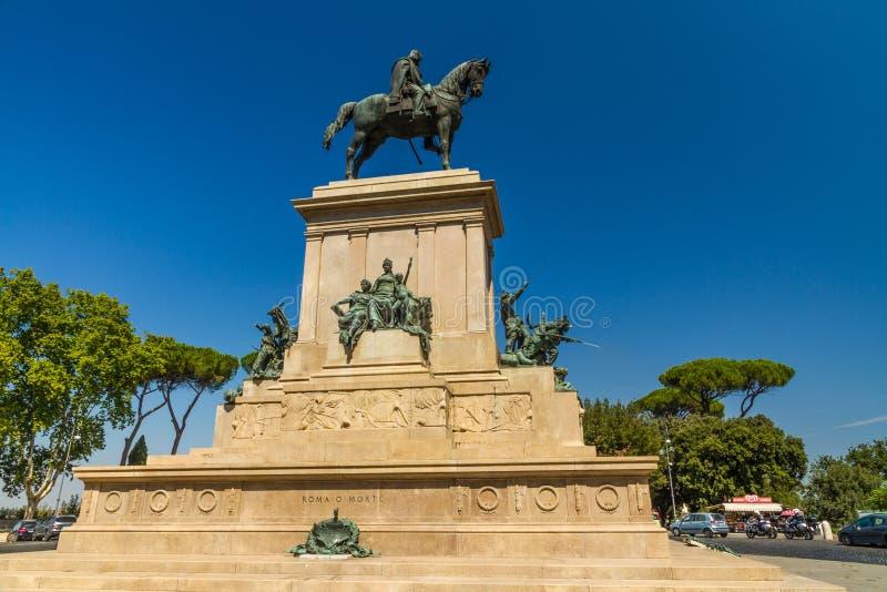 Monumento a Garibaldi fotografia stock