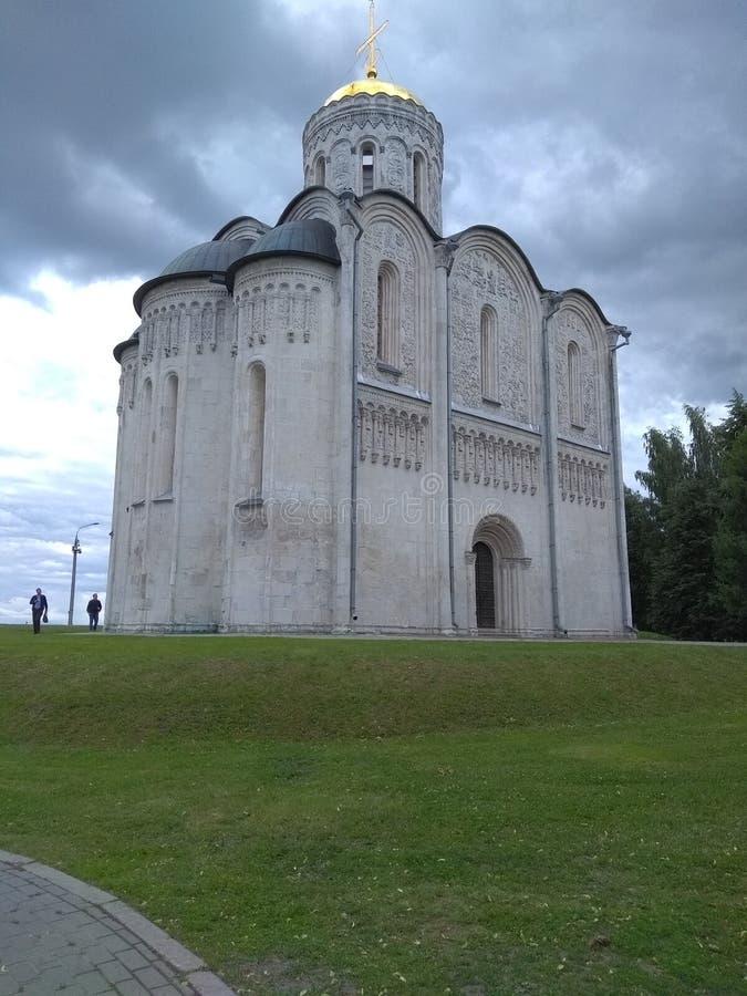 Monumento histórico de la arquitectura cristiana fotografía de archivo libre de regalías