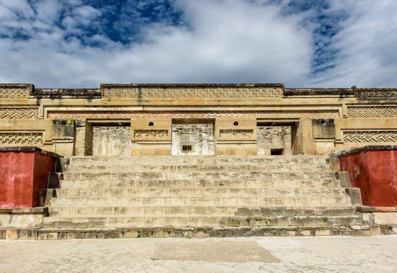 Monumento histórico no a cidade mesoamerican antiga imagens de stock royalty free