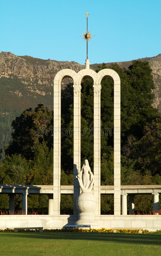 Monumento a Huguenots francês foto de stock royalty free