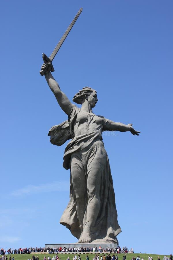 Monumento il monumento le chiamate della patria! fotografie stock