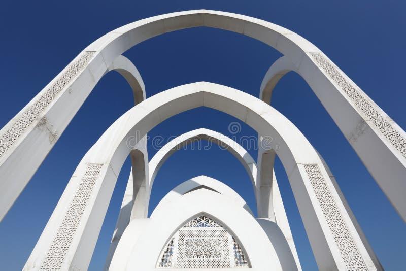 Download Monumento Islâmico Em Doha, Qatar Imagem de Stock - Imagem de doha, moderno: 26500933