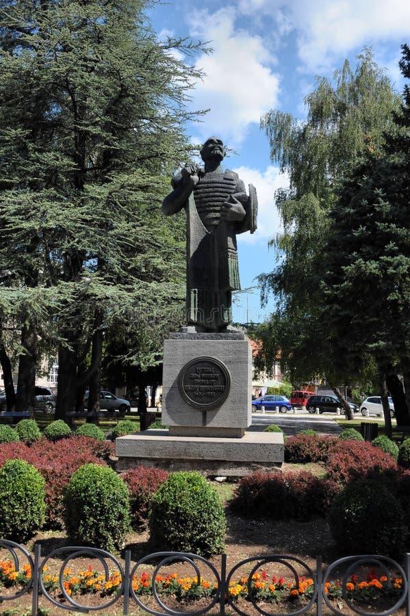 Monumento a Ivan Crnojevic en Cetinje, Montenegro, Europa imagen de archivo libre de regalías