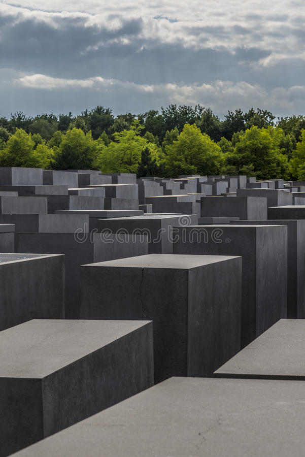 Monumento judío de Berlín fotografía de archivo libre de regalías