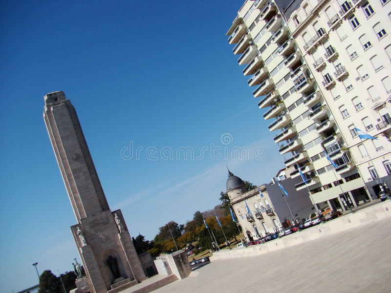 Monumento a la Bandera #1 stock photos