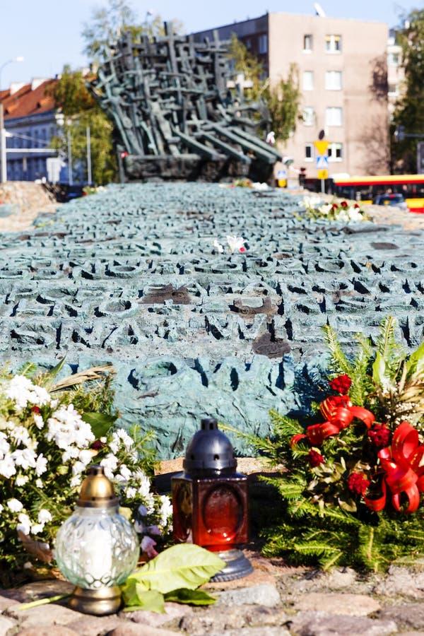 Monumento a la haber caído y asesinado en el este imagen de archivo
