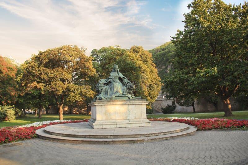 Monumento a la reina austríaca Elizabeth fotografía de archivo libre de regalías