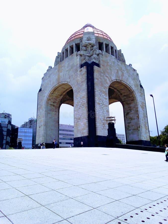 Monumento A La Revolución, Cuidad De México. Plaza De La República royalty free stock photos