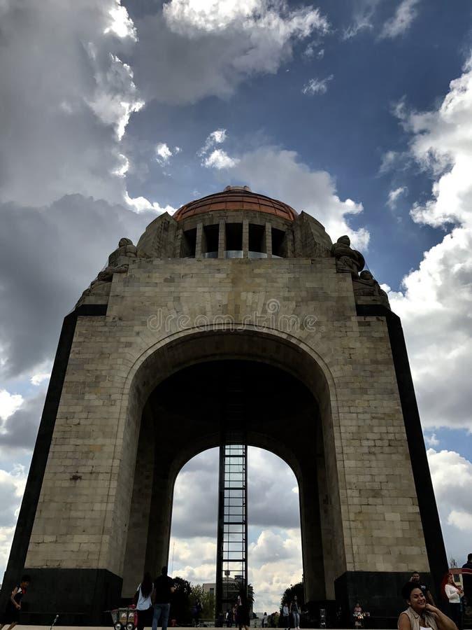 Monumento a la revolución mexicana imágenes de archivo libres de regalías