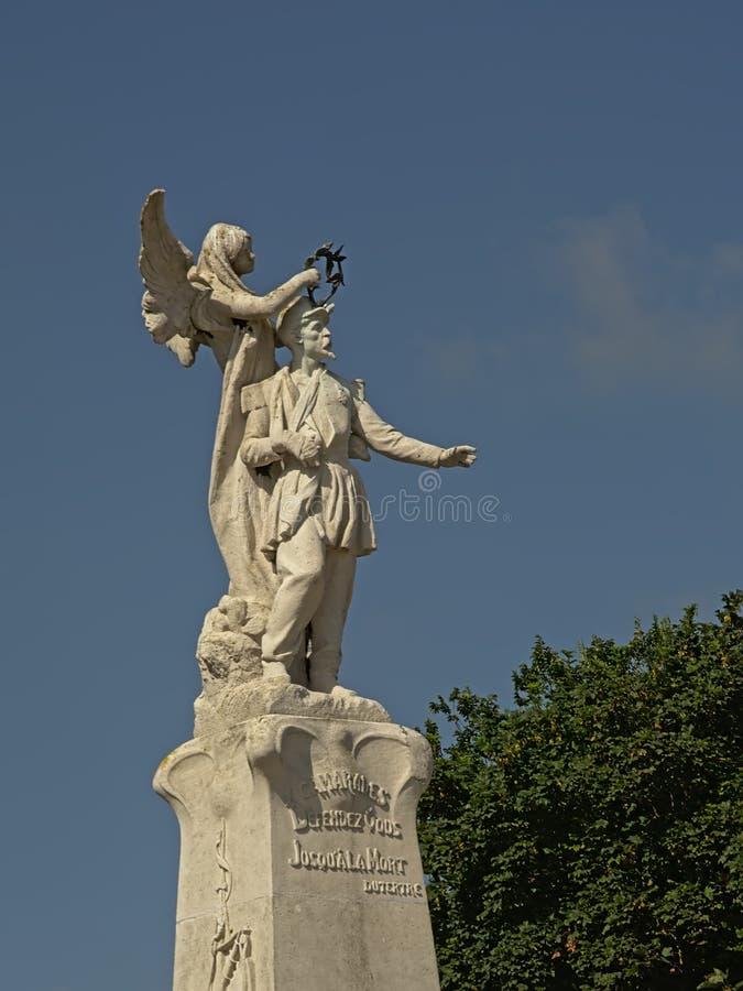 Monumento a los ciudadanos de Calais que murieron por la patria fotografía de archivo libre de regalías