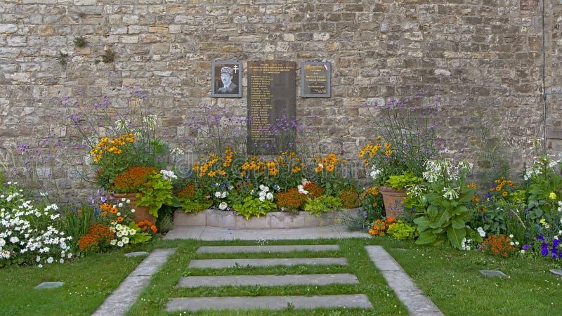 Monumento a los ciudadanos del mer del sur de Boulogne que murieron en la Segunda Guerra Mundial fotografía de archivo