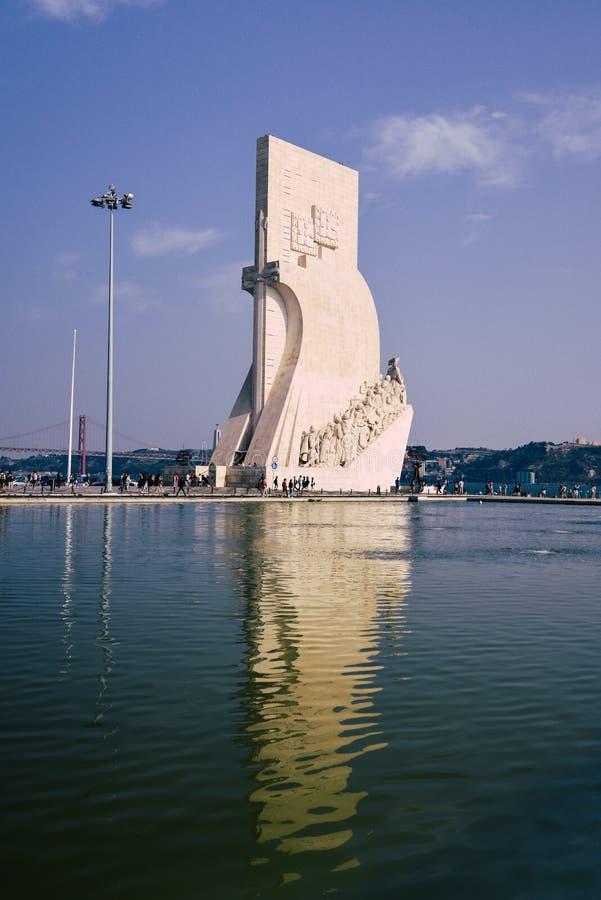 Monumento a los descubrimientos, DOS Descobrimentos, Lisboa, Portugal de Padrao fotografía de archivo libre de regalías