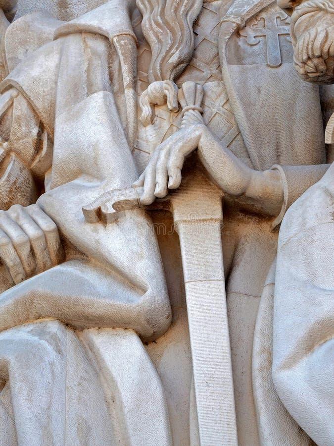 Monumento a los descubrimientos en Libon en Portugal fotografía de archivo libre de regalías