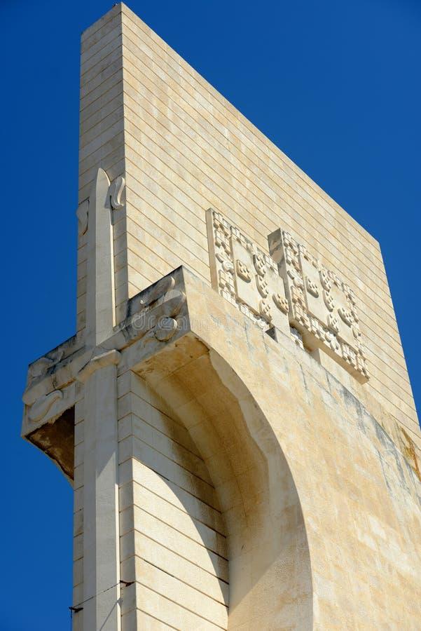 Monumento a los descubrimientos, Lisboa, Portugal fotos de archivo libres de regalías