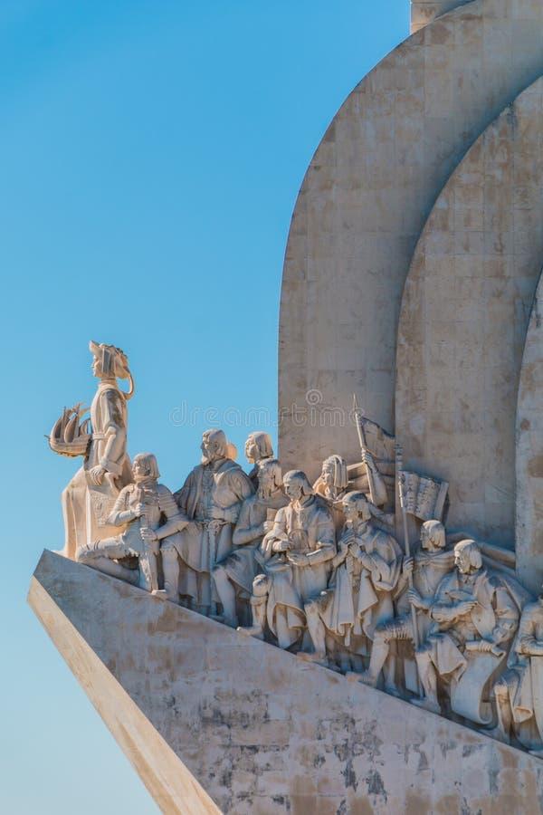 Monumento a los descubrimientos, Lisboa, Portugal foto de archivo