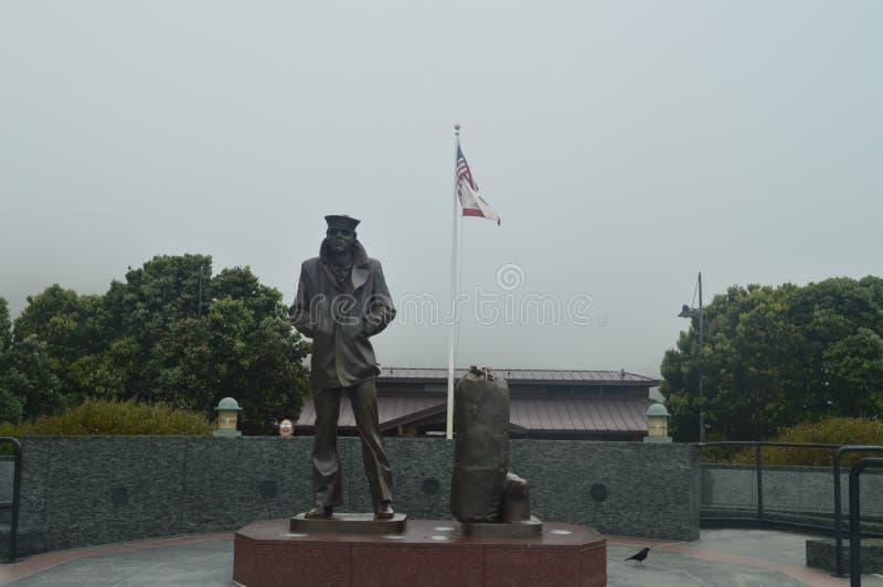 Monumento a los marinos en San Francisco Arquitectura de los días de fiesta del viaje fotografía de archivo libre de regalías