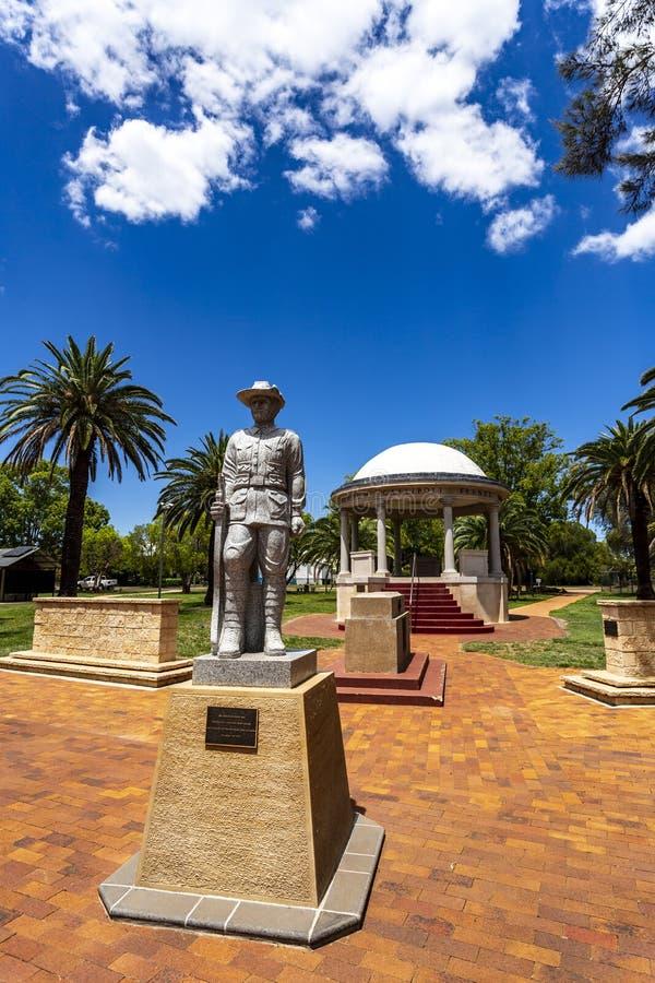 Monumento a los soldados de Kingaroy Rotunda foto de archivo libre de regalías