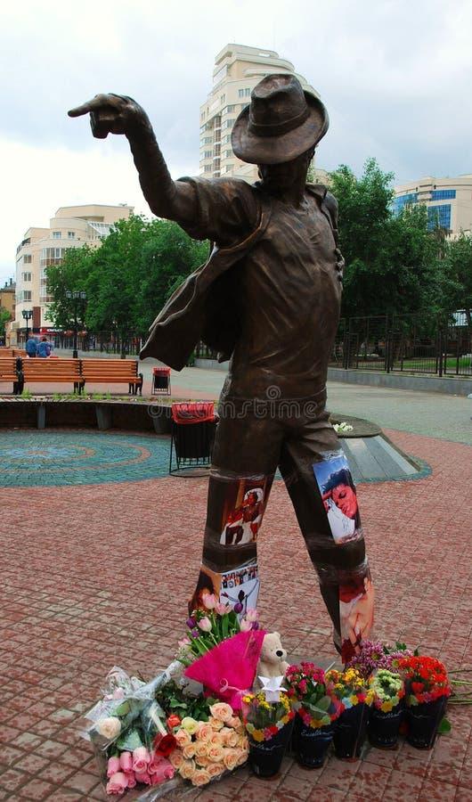 Monumento a Michael Jackson. fotos de archivo libres de regalías