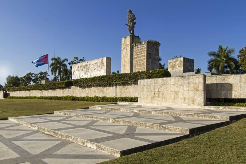 Monumento minnes- Che Guevara, Kuba royaltyfria bilder