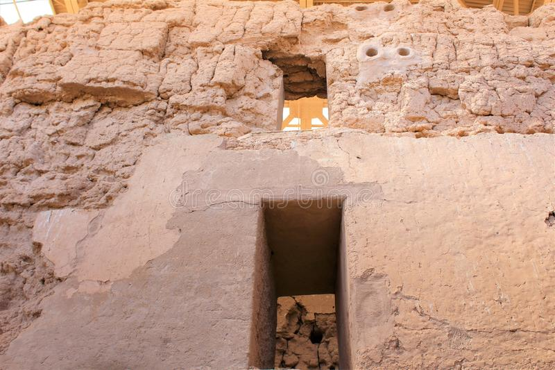 Monumento nacional Arizona de las grandes ruinas de la casa fotos de archivo