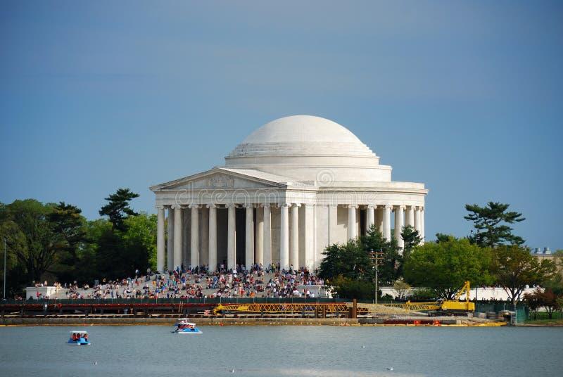 Monumento nacional de Jefferson, Washington DC fotos de archivo