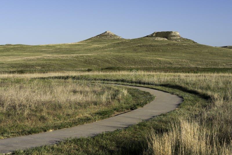 Monumento nacional de las camas fósiles de la ágata fotografía de archivo libre de regalías