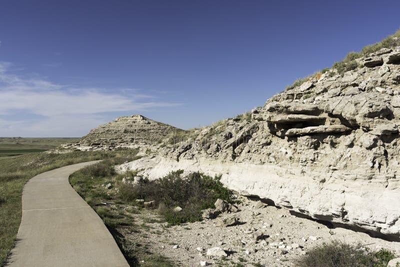 Monumento nacional de las camas fósiles de la ágata imagenes de archivo
