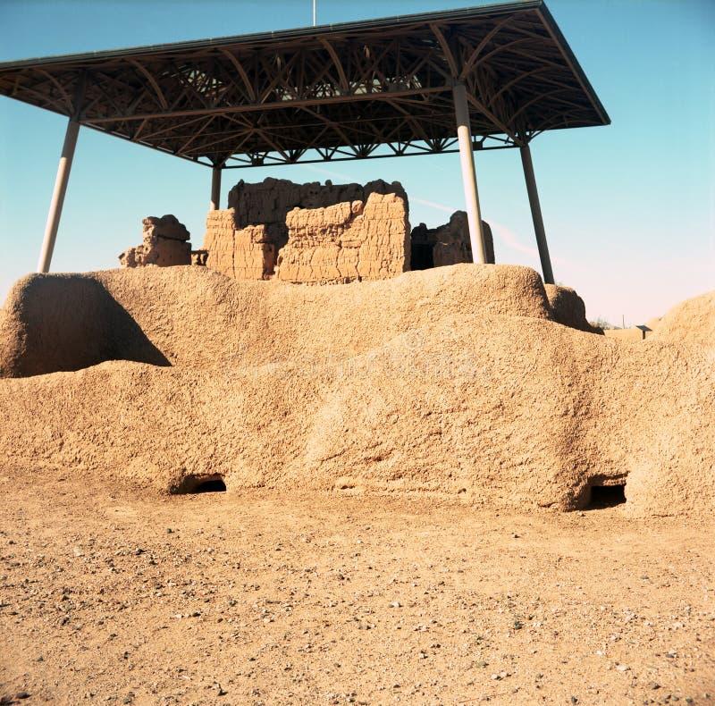 Monumento nacional de las grandes ruinas de las casas foto de archivo libre de regalías