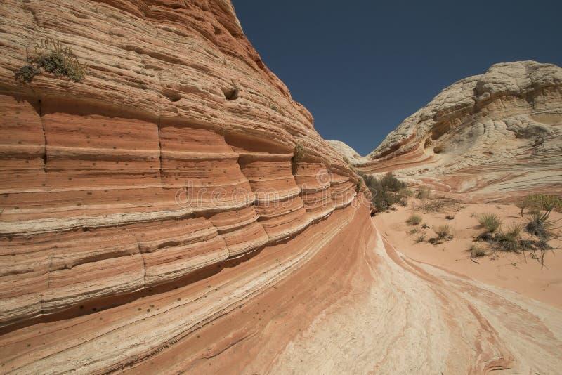 Monumento nacional de los acantilados bermellones, bolsillo blanco, Arizona los E.E.U.U. imagen de archivo libre de regalías