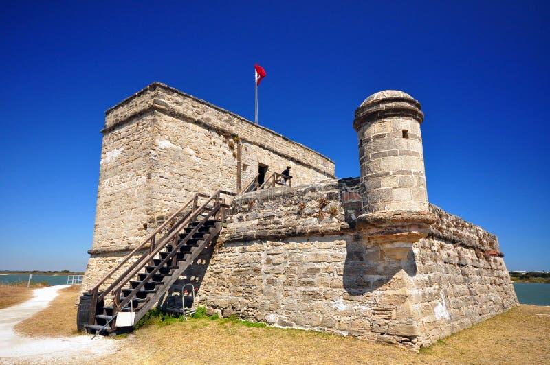 Monumento nacional de Matanzas de la fortaleza fotografía de archivo libre de regalías