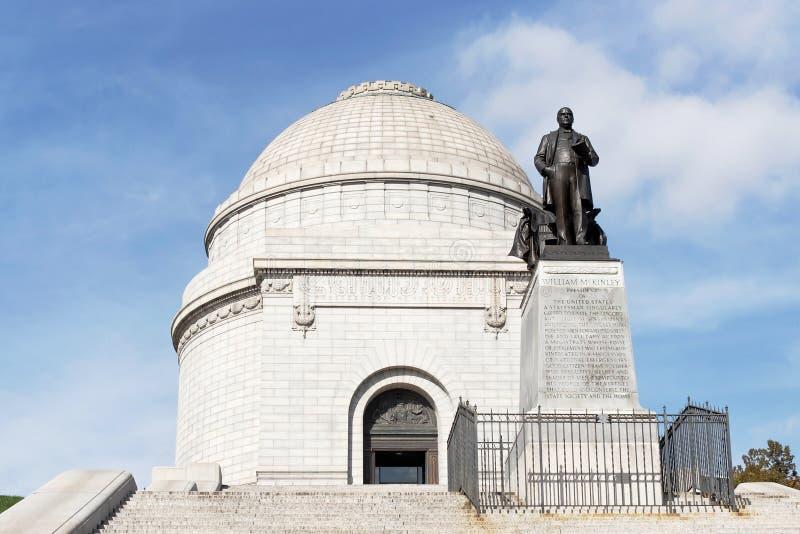 Monumento nacional de McKinley foto de stock