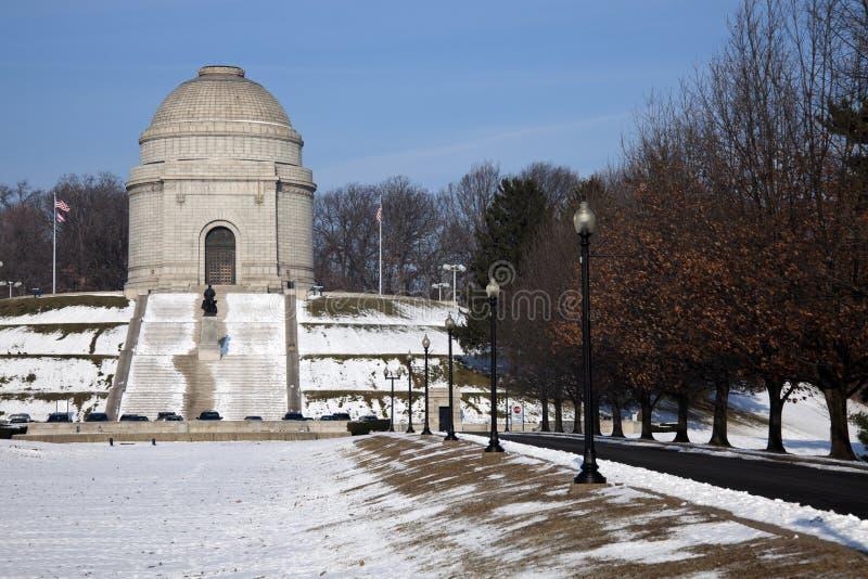 Monumento nacional de McKinley imagen de archivo libre de regalías