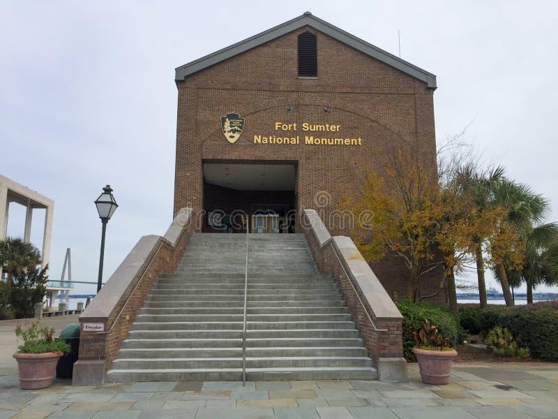 Monumento nacional de Sumter del fuerte fotos de archivo