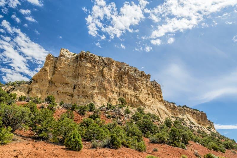 Monumento nacional del dinosaurio, Colorado foto de archivo