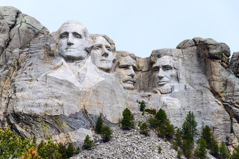 Monumento nacional del rushmore del montaje fotografía de archivo libre de regalías