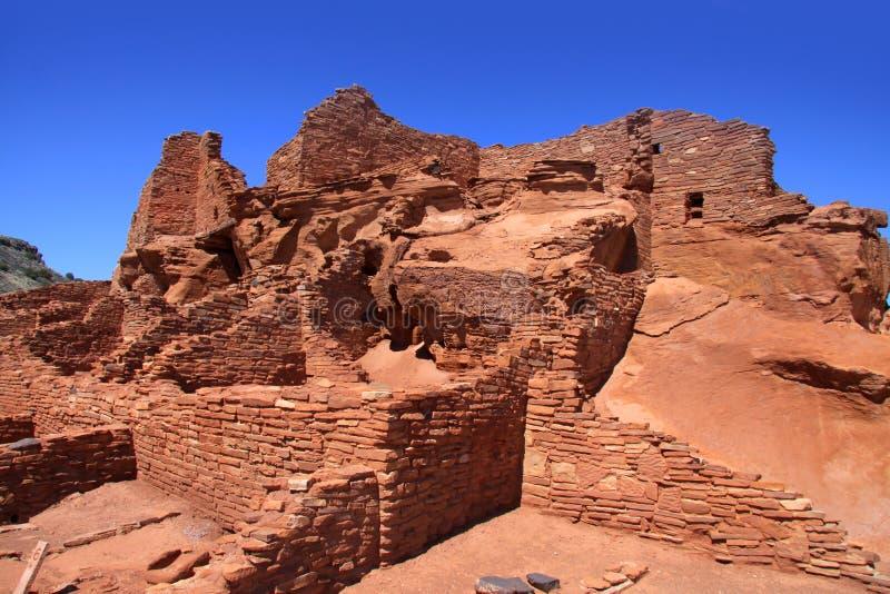 Monumento nacional do povoado indígeno de Wupatki fotos de stock