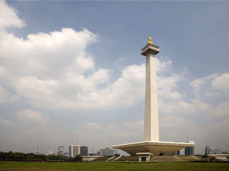 Monumento nacional Indonesia foto de archivo libre de regalías