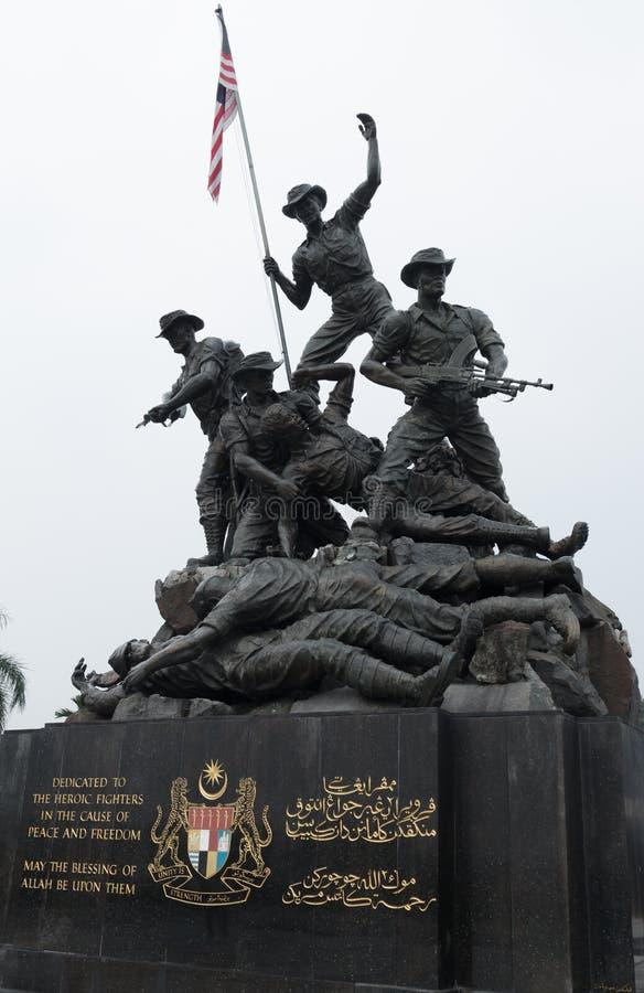 Monumento nacional, Kuala Lumpur, Malaysia foto de stock