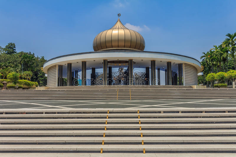 Monumento nacional malaio imagem de stock royalty free
