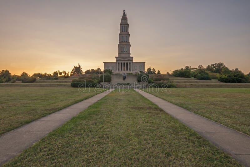 Monumento nacional masónico imagen de archivo