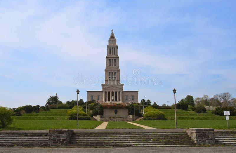 Monumento nacional masónico de George Washington foto de archivo
