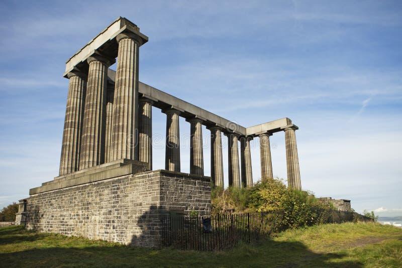 Monumento nacional Scotland imagens de stock