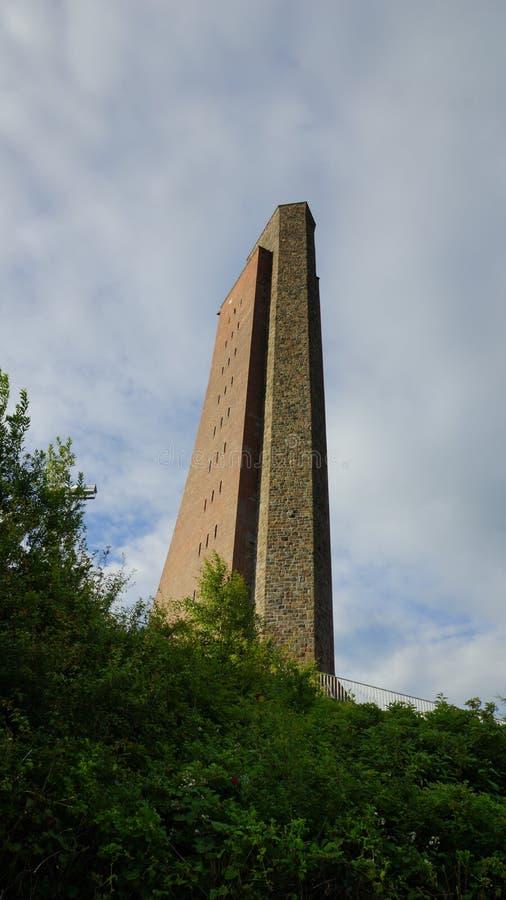 Monumento naval de Kiel Laboe - edificio público fotografía de archivo