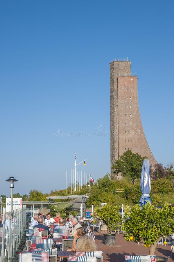 Monumento naval en Laboe fotografía de archivo libre de regalías