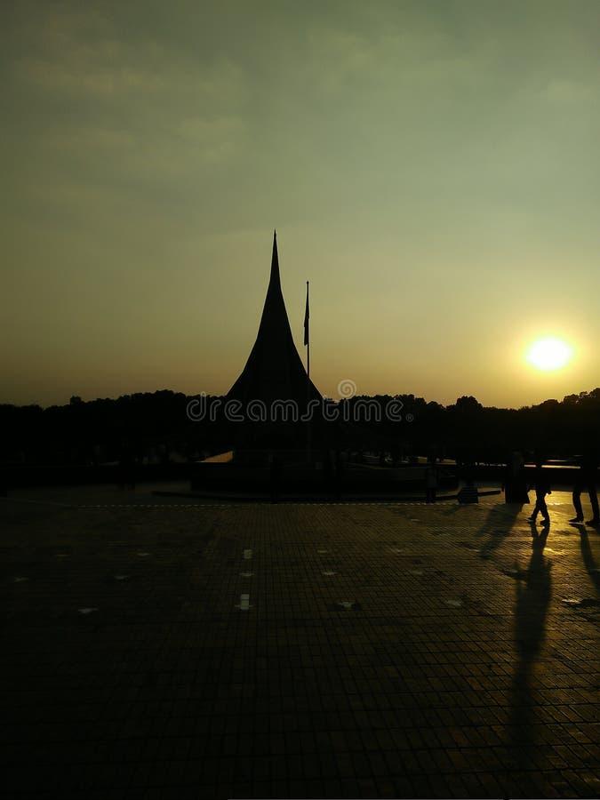 Monumento nazionale fotografie stock libere da diritti