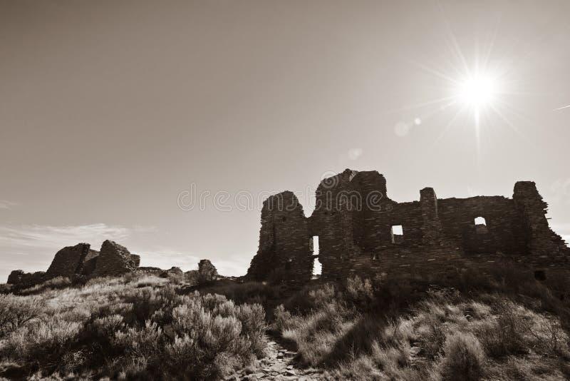 Monumento nazionale della coltura di Chaco immagini stock