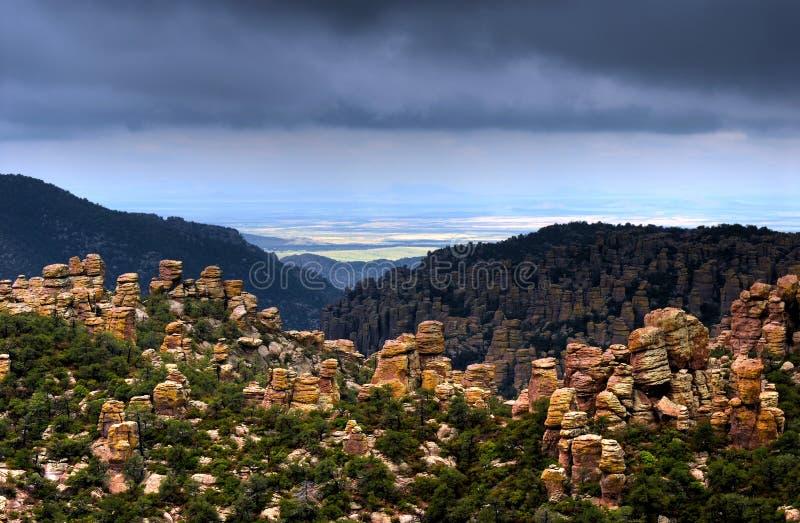 Monumento nazionale di Chiricahua immagini stock libere da diritti