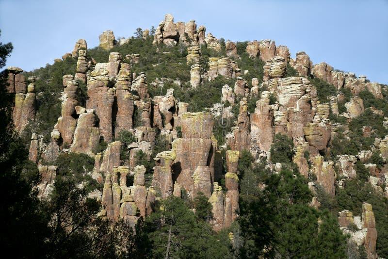 Monumento nazionale di Chiricahua, Arizona, S.U.A. immagini stock