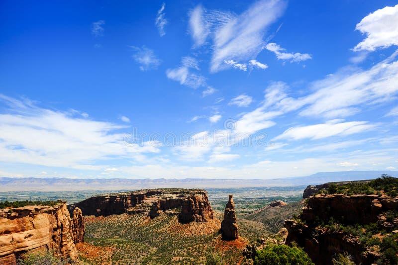 Monumento nazionale di Colorado immagini stock libere da diritti