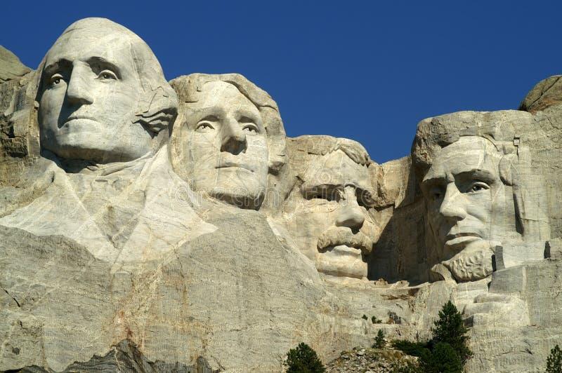 Monumento nazionale di Rushmore del supporto fotografia stock